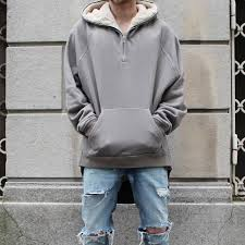 2016 latest top kanye west yeezy season oversized pullover hoodie