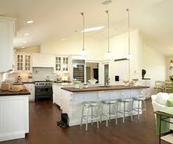 kitchen fancy open kitchen plans with island black white