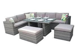 Outdoor Rattan Dining Chairs Dining Chairs Brantwood Rattan Corner Sofa Dining Set Superb