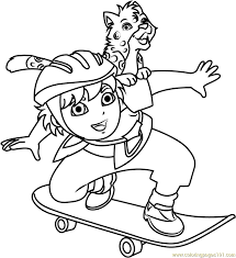 diego coloring pages 78 u0027diego u0027 worksheets kids