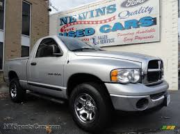 2005 dodge ram 1500 single cab 2005 dodge ram 1500 st regular cab 4x4 in bright silver metallic