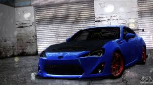 tuned subaru brz subaru brz for gta san andreas
