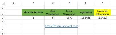 calculadora de salario diario integrado 2016 calcular sdi en excel formulas excel