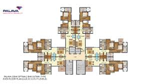 lodha palava codename riverside floor plan price of 1 2 3 bhk
