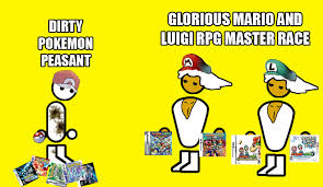 mario and luigi rpg master race the glorious pc gaming master race