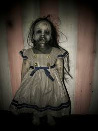 Scary Baby Doll Halloween Costume Agnes Creepy Doll Halloween Dolls Scary Horror