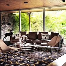 Modern Living Room Ideas With Brown Leather Sofa Alwinton Corner Sofa Handmade Fabric Open Plan Living Room