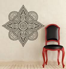 Wall Decals Mandala Ornament Indian by Mandala Wall Decal Vinyl Sticker Decals Yoga Namaste Indian