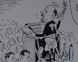 Iron Curtain Political Cartoons 1950s German Cartoon Etsy