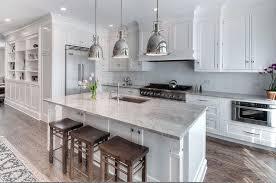 super white granite transitional kitchen amber interiors