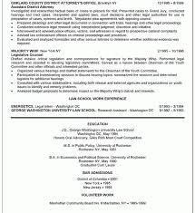 lawyer resume sample resume example