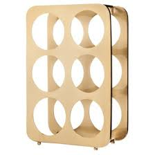 plush design ideas gold wine rack plain rack honeycomb gold
