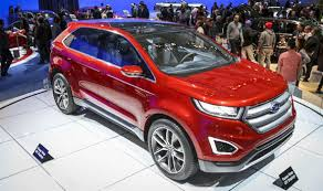 new ford cars edge ford s new 4x4 could cut through the family car market