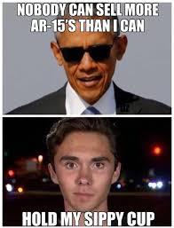 Emerged Meme - a new gun sales poster boy has emerged