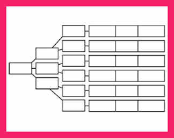 graphic organizer template bio letter format