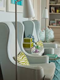 Formal Chairs Living Room Antunes Lovely Living Room With Grau Blue Wingback
