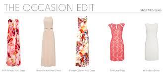 Wedding Dresses For Guests Uk Occasion Dress Edit Wallis