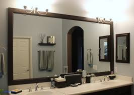 Bathroom Mirror Frame Kit How To Frame A Mirror Lovely Reflected Design Bathroom Mirror