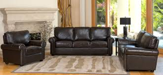 Livingroom Gg by Darby Home Co Coggins 3 Piece Italian Leather Sofa Loveseat And
