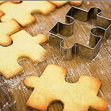 fox run brands puzzle pieces cookie cutter set