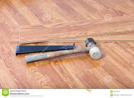 Installing Laminate Flooring Install Laminate Floating Floor Stock Photo Image 56623212