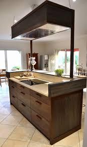 meuble cuisine central meuble cuisine bois brut ilot central cuisine bois brut