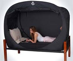 the privacy bed tent newest invention for a good night s sleep privacy bed tent