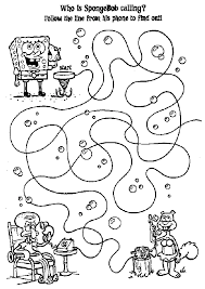 pudgy bunny u0027s spongebob squarepants coloring pages