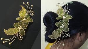 hair broach zardosi hair brooch hair brooch indian wedding hair