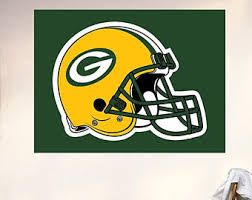 Green Bay Packers Bedroom Ideas Green Bay Packers Decal Etsy