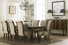 cotswold cinnamon rectangular leg dining room set from liberty