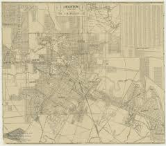 Vintage United States Map by Old Houston Maps Houston Past