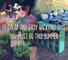 Cheap Diy Backyard Ideas Diy Cheap Backyard Ideas Large And Beautiful Photos Photo To