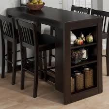 Kitchen Table For Small Spaces by Kitchen Square High Pub Brown Tall Kitchen Table With Stools