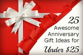 25 awesome anniversary gift ideas for 25 happy club