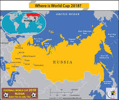 russia football map russia map showing the football world cup 2018 host cities answers