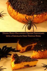 cheesecake recipe halloween orange cheesecake u0026 oreo swirl