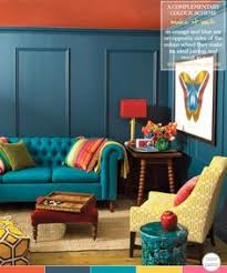 blue and orange decor how to decorate with a complementary colour palette ceilings
