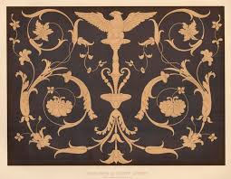 inlaid wood of the xvth century specimens of ornamental