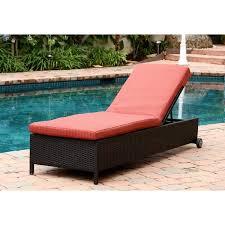 Outdoor Wicker Chaise Lounge Abbyson Ventura Outdoor Wicker Chaise Lounge Free Shipping Today