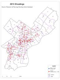 Crime Map New York by Officer Involved Shootings Philadelphia Police Department