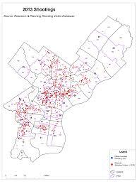 New York City Crime Map by Officer Involved Shootings Philadelphia Police Department