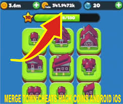 merge town apk cheats and hack v 1 9 2 unlimited coind android