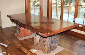 Slab Wood Bar Top Rustic Table Live Edge Table Wood Table Littlebranch Farm