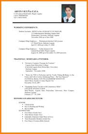 How To Type Up A Resume For A Job by 5 Philippines Resume Sample Sales Resumed
