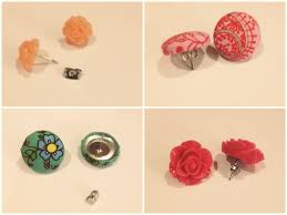 make your own earrings studs thunder events simple studs make your own earring sets