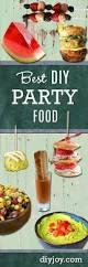 49 best diy party food ideas diy joy