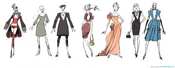 fashion clothes drawing black and white wallpaper fashion sketches