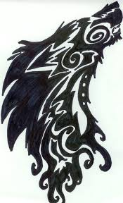 tribal howling wolf tattoo by pantherflame on deviantart