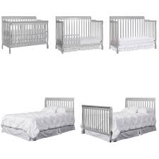 Dream On Me Portable Mini Crib by Dream On Me Ashton Convertible 5 In 1 Crib Mystic Grey